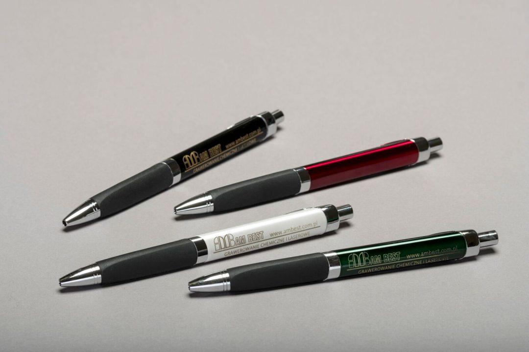 Laserbeschriftung auf Kugelschreiber